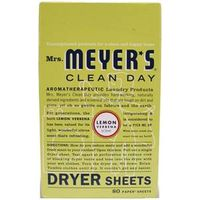 DRYER SHEET LEMON 80CT
