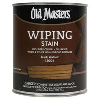 Old Masters 12004 Oil Based Wiping Stain
