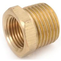 Anderson Metal 756110-0802 Brass Pipe Hex Bushing