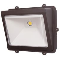 LIGHT WALLPACK LED BZ 50W 120V