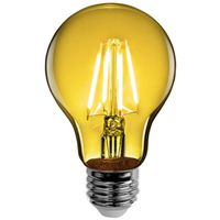 LED TRANSPARENT A19 YELLOW