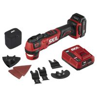 MULTI-TOOL OSCILL KIT 12V 2AH