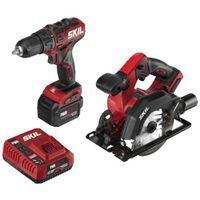 DRVR/DRILL&CIRC SAW KIT 12V