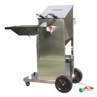 FRYER W/CART STAINLESS 4GAL