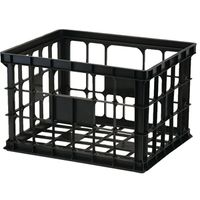 CRATE LARGE BLACK