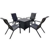 CHAT SET FIRE TABLE 5-PIECE