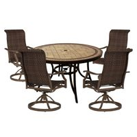 DINING SET ORCHARD GROVE 5-PC