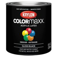 PAINT GLOSS BLACK 1/2PINT