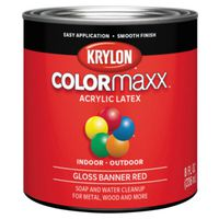 PAINT GLOSS BANNER RED 1/2PINT