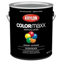 PAINT GLOSS BLACK 1GALLON