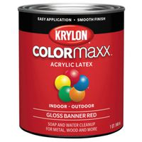 PAINT GLOSS BANNER RED 1QUART