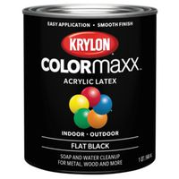 PAINT FLAT BLACK 1QUART