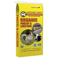 FEED CRUMBLE ORGANIC 40LB