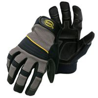 GLOVES UTILITY PVC PALM LARGE