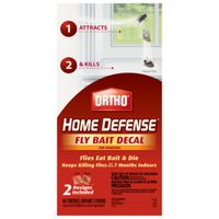 DECAL FLY BAIT F/WINDOWS 2PACK