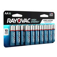 BATTERY ALK AA 750MAH 16PK