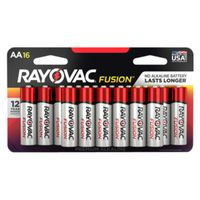 BATTERY ALKLNE AA 2700MAH 16PK