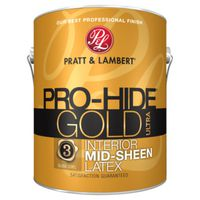 PAINT INTR MID-SHEEN WHT 1GAL