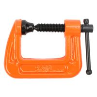 C-CLAMP ADJUSTABLE ORANGE 1IN