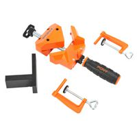 CLAMP ANGLE ORANGE/BLACK 90DEG
