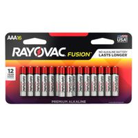 BATTERY ALKLN AAA 2700MAH 16PK
