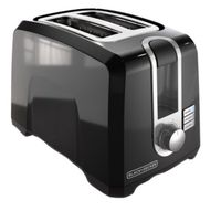 TOASTER 2 SLICE BLACK 13X8X9IN