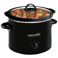 COOKER SLOW MANUAL BLACK 2QT