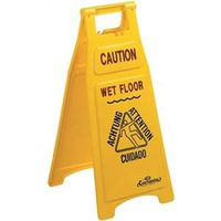 SIGN FLOOR CAUTION 2 SIDED