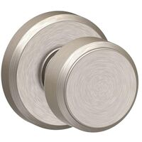 LOCK KNOB BOWERY SATIN NICKEL