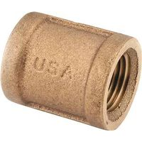 Anderson Metal 738103-20 Brass Pipe Coupling