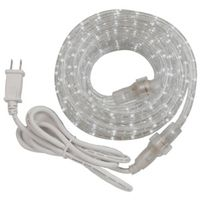 KIT ROPE LIGHT LED WHITE 24FT