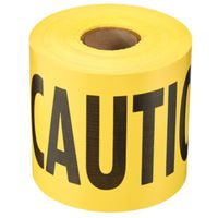 TAPE BARR CAUTION YELLOW 300FT