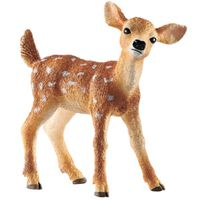 FIGURINE WHT TAILED FAWN 5.2CM