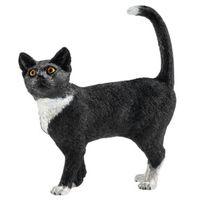 FIGURINE CAT STANDING 5.5X6CM