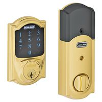 Schlage BE469NXVCAM505 Electronic Entry Touchscreen Door Deadbolt