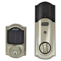 Schlage BE469NXVCAM619 Electronic Entry Touchscreen Door Deadbolt