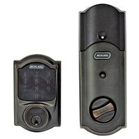 Schlage Camelot Electronic Entry Touchscreen Door Deadbolt