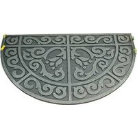 Homebasix 06ABSHE-14-3L Half Circle Door Mat