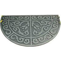 Homebasix 06ABSHE-14-3L Half Circle Door Mat