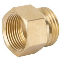 CONNECTOR BRASS 3/4MHX3/4FPT