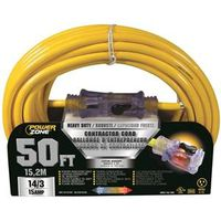 Powerzone ORP511730 Pro SJTOW Extension Cord