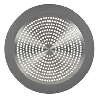 STRAINER SHOWER BRUSH NICKEL