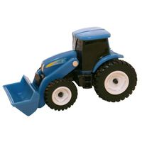 TOY HOLLAND TRACTOR W/LOAD