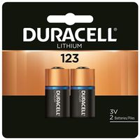 Ultra DL123AB2PK Lithium Battery
