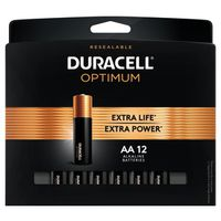 BATTERIES OPTIMUM AA 12 PK