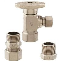 Plumb Pak K2048ABNLF 1/4 Turn Angle Supply Line Valve