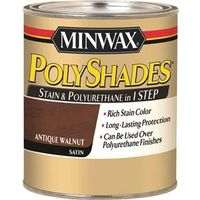 PolyShades 21340 One Step Oil Based Wood Stain and Polyurethane