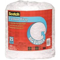 Scotch BB7912-25 Perforated Bubble Cushion Wrap