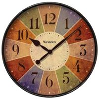 Westclox 32897 Casual Wall Clock