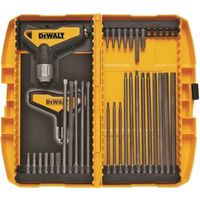 DeWalt DWHT70265 Ratcheting T-Handle Hex Key Set